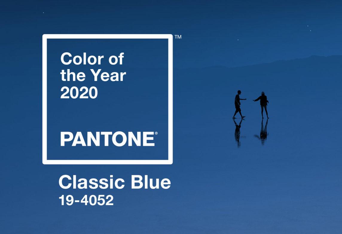 Pantone 2020: Classic Blue